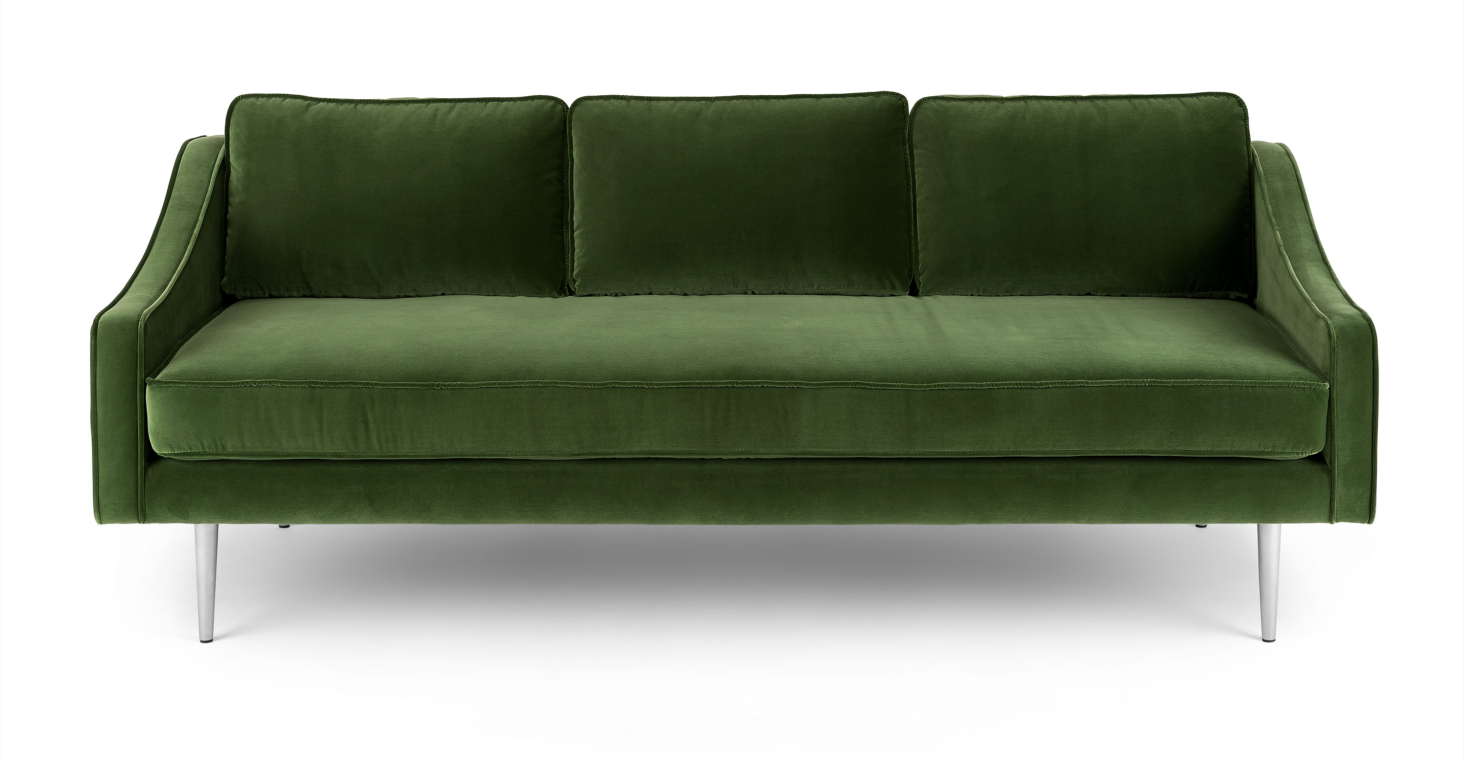 Green Settee Mirage Grass Green Sofa Sofas Article Modern Mid