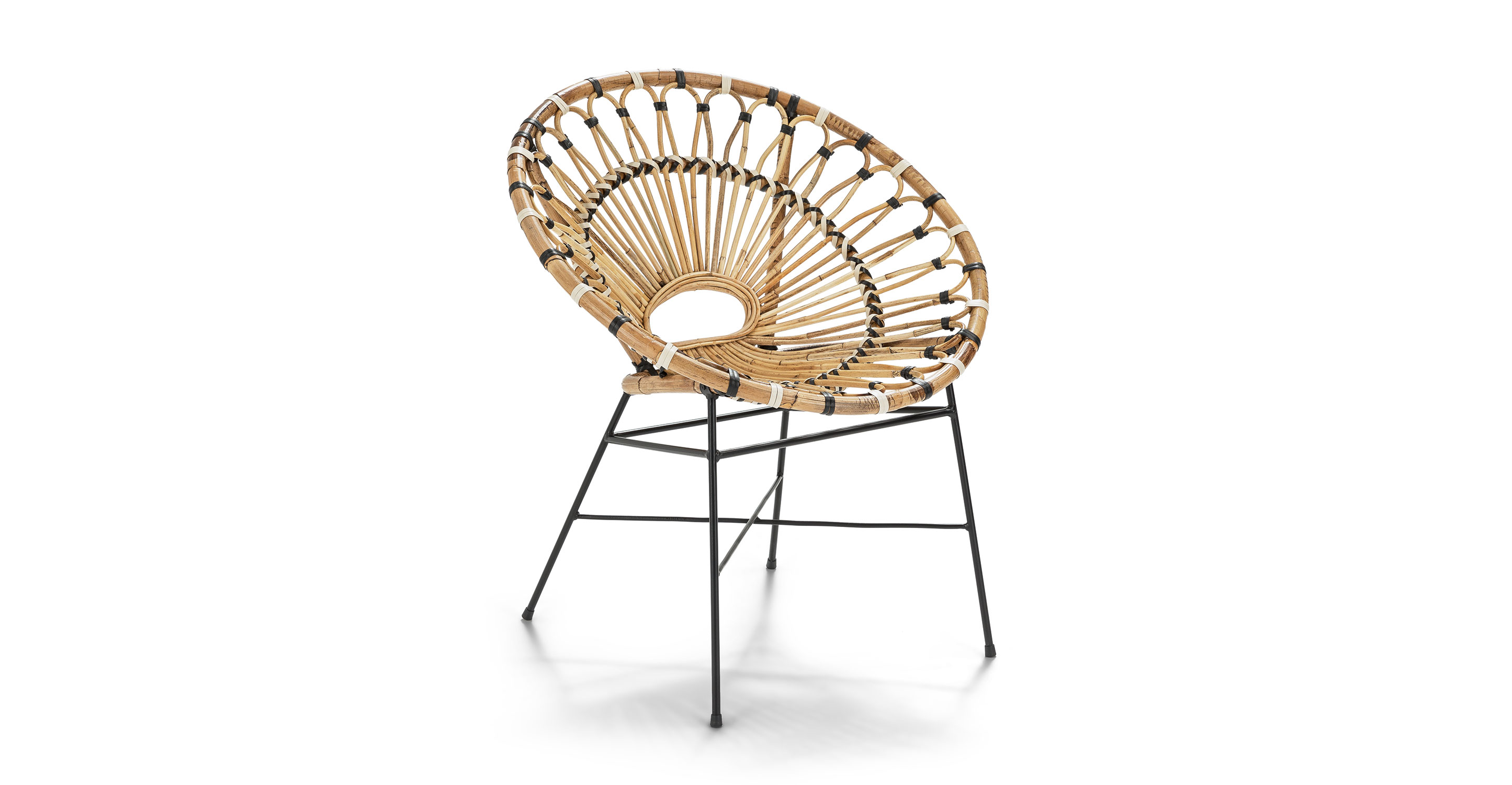 Rattan Outdoor Lounge Chair Daisy Article
