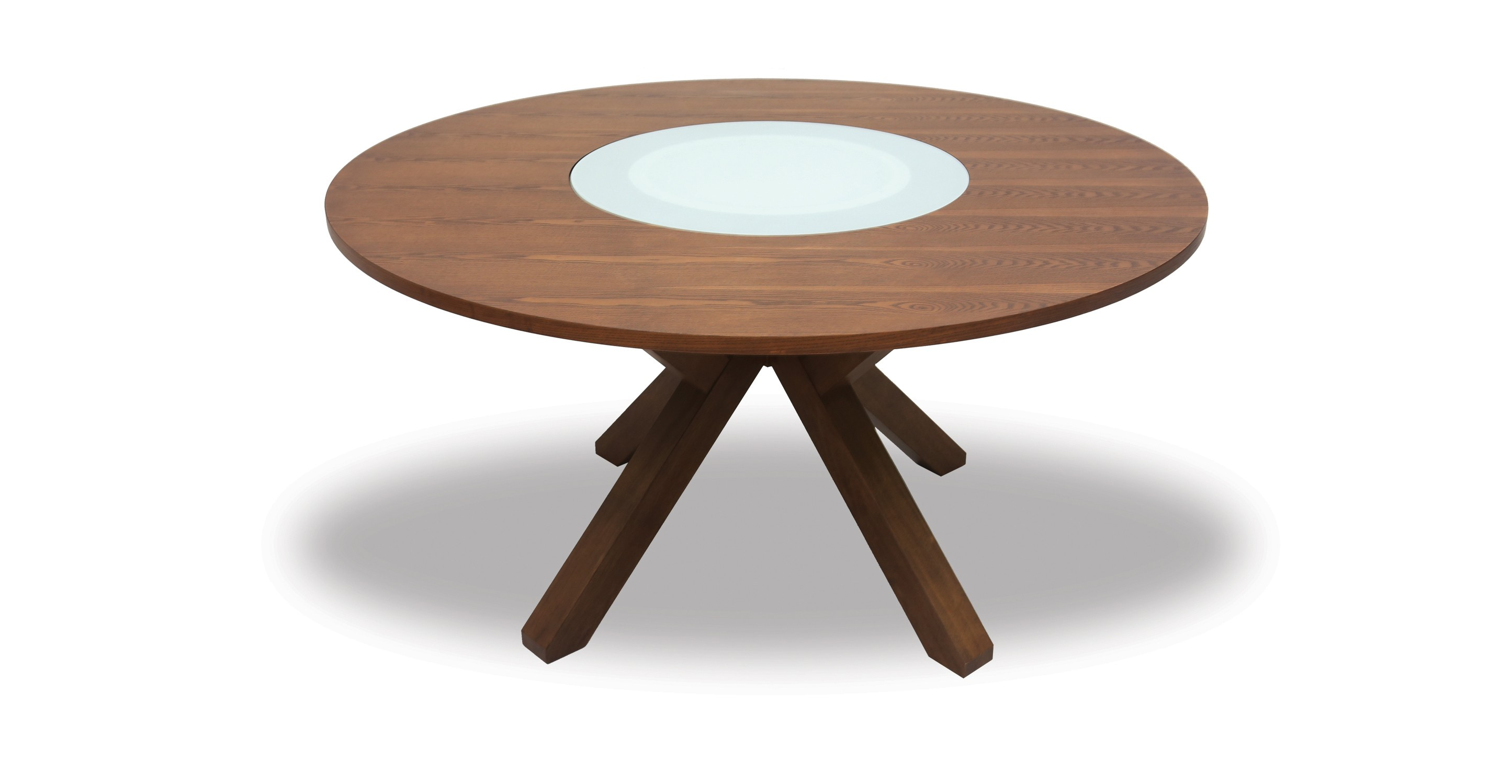 Lazy Susan Table Clifford Lazy Susan Round Dining Table Article