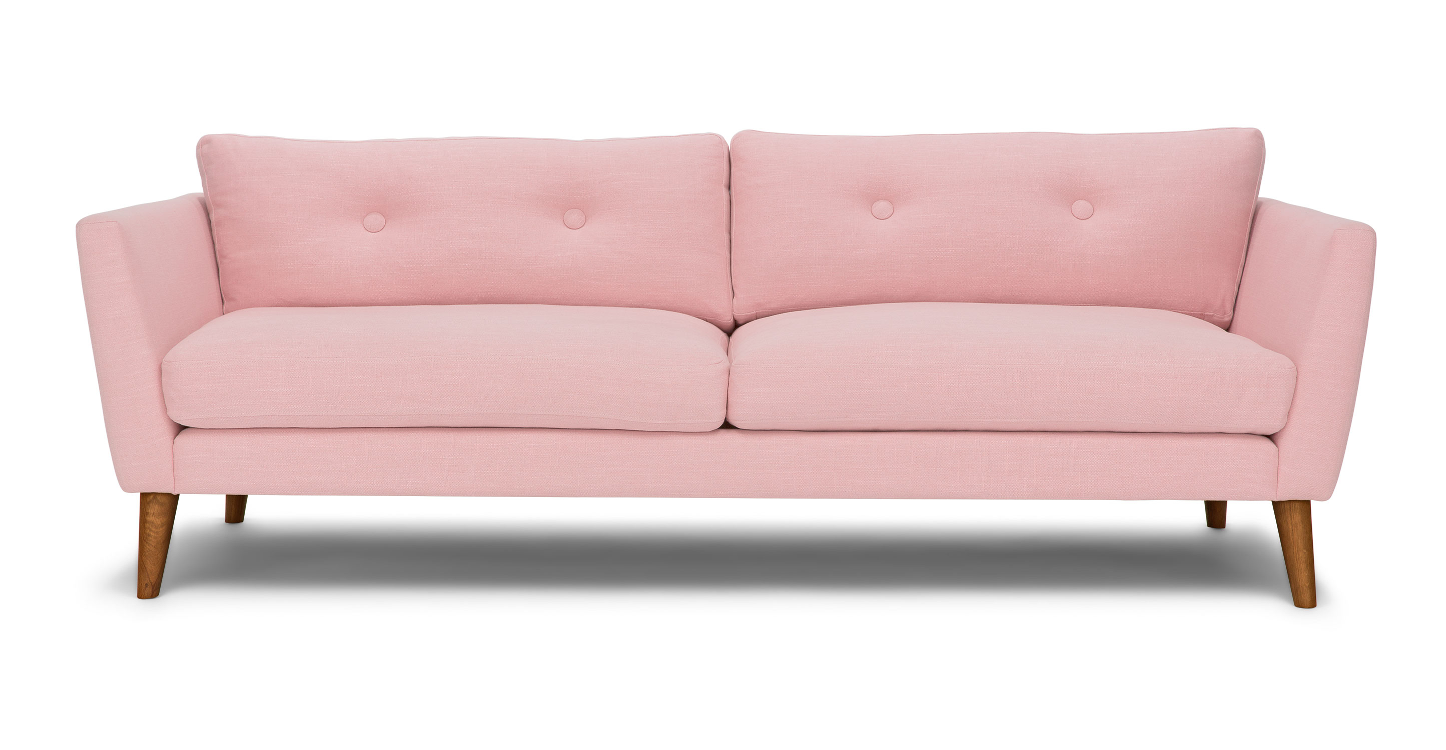 Couch Furniture Emil Quartz Rose Sofa Article