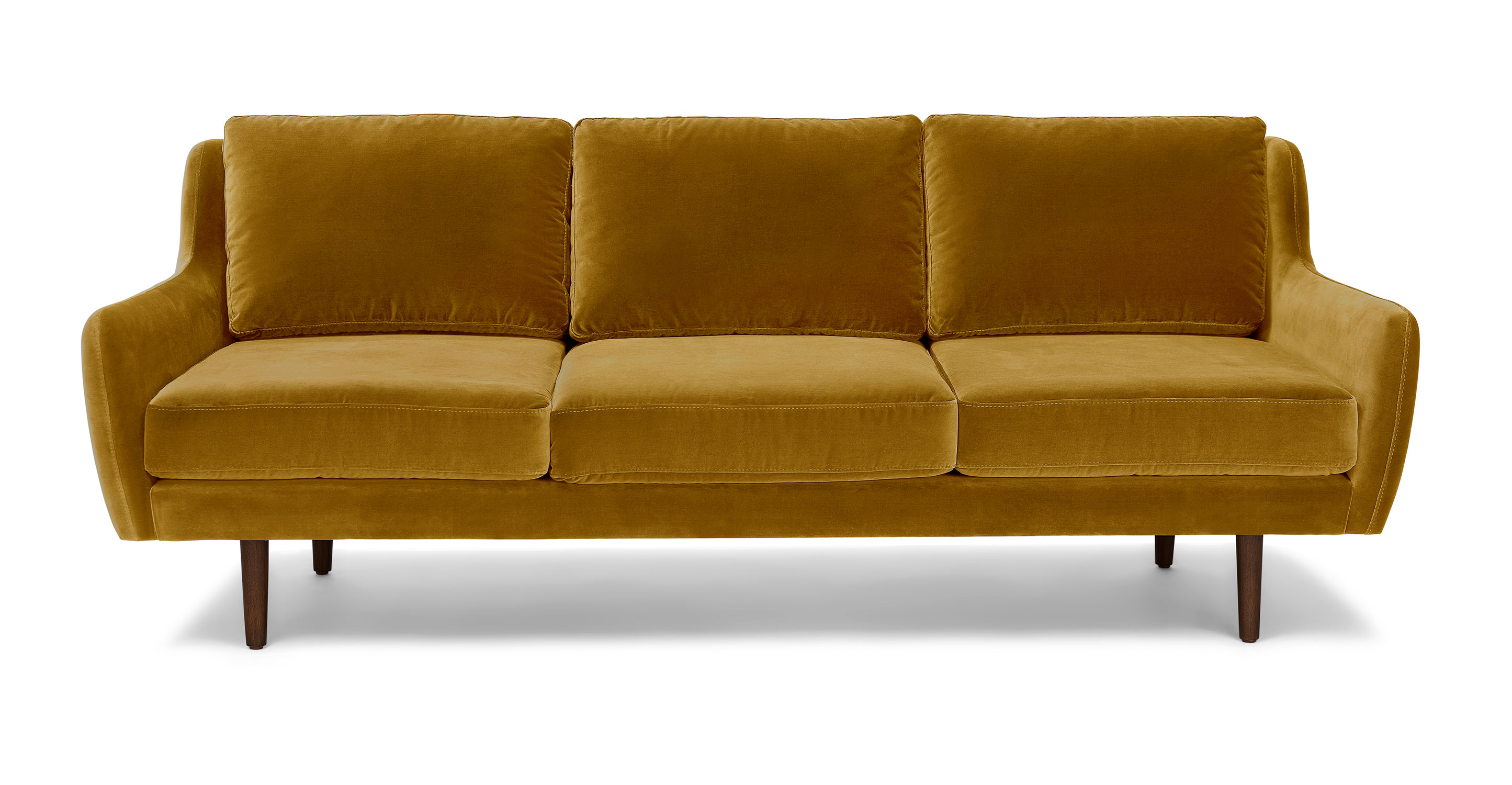 Sofas And Stuff Reviews Gold Velvet Sofa 3 Seater Walnut Wood Legs Article Matrix Modern Furniture