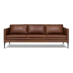 Small Crop Of Brown Leather Couch