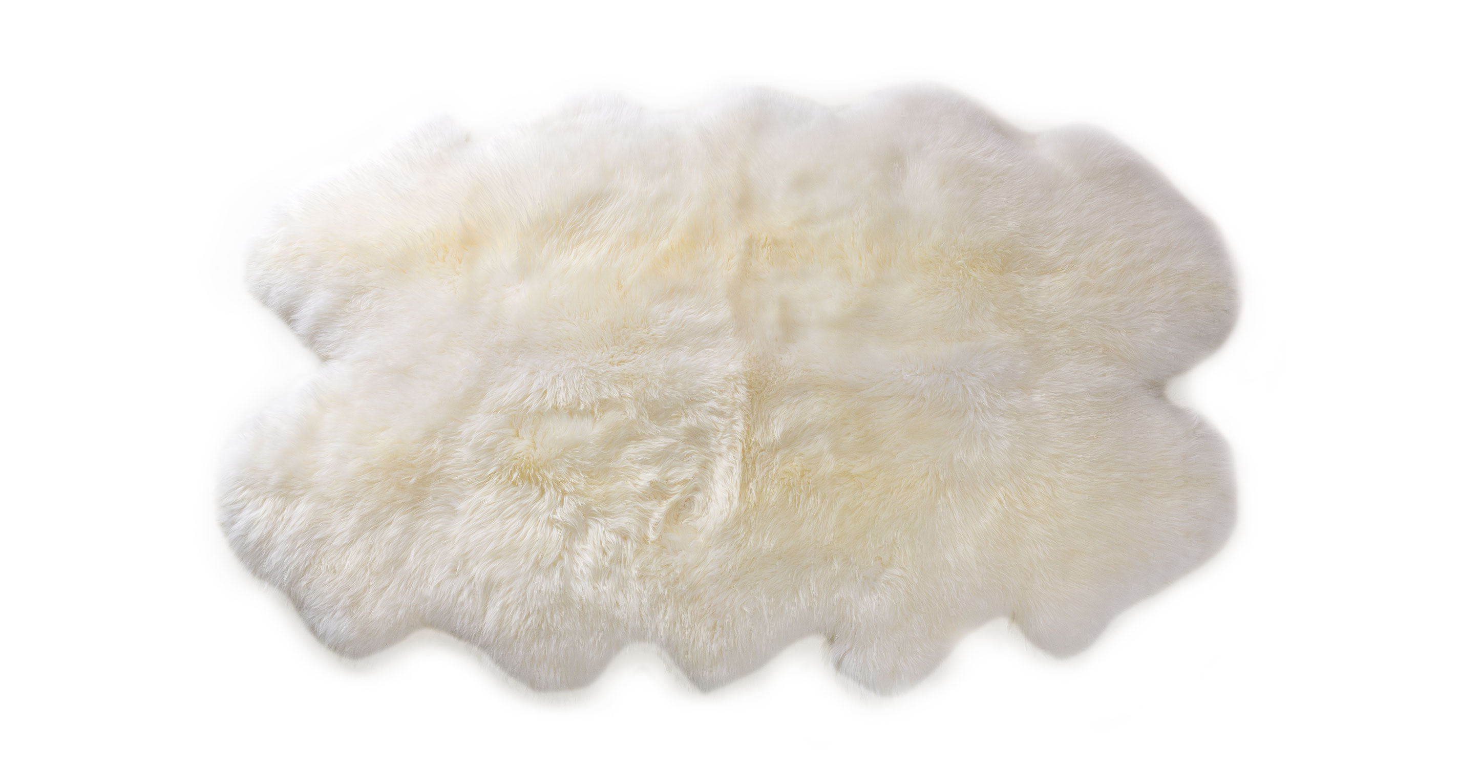 Review 4x6 Sofa 4x6 Ivory Sheepskin Throw Article Lanna Contemporary Accessories