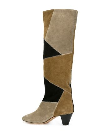 Isabel Marant 39ross39 Patchwork Boots Farfetch