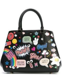 small 'All-Over Stickers Featherweight Ebury' tote