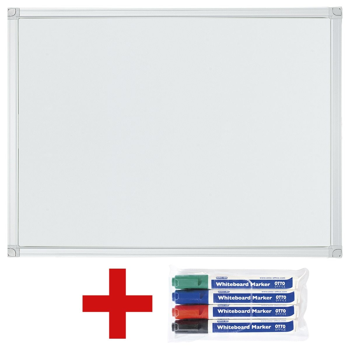 Whiteboard Günstig Otto Office Whiteboard 60 X 45 Cm Inkl 4er Pack