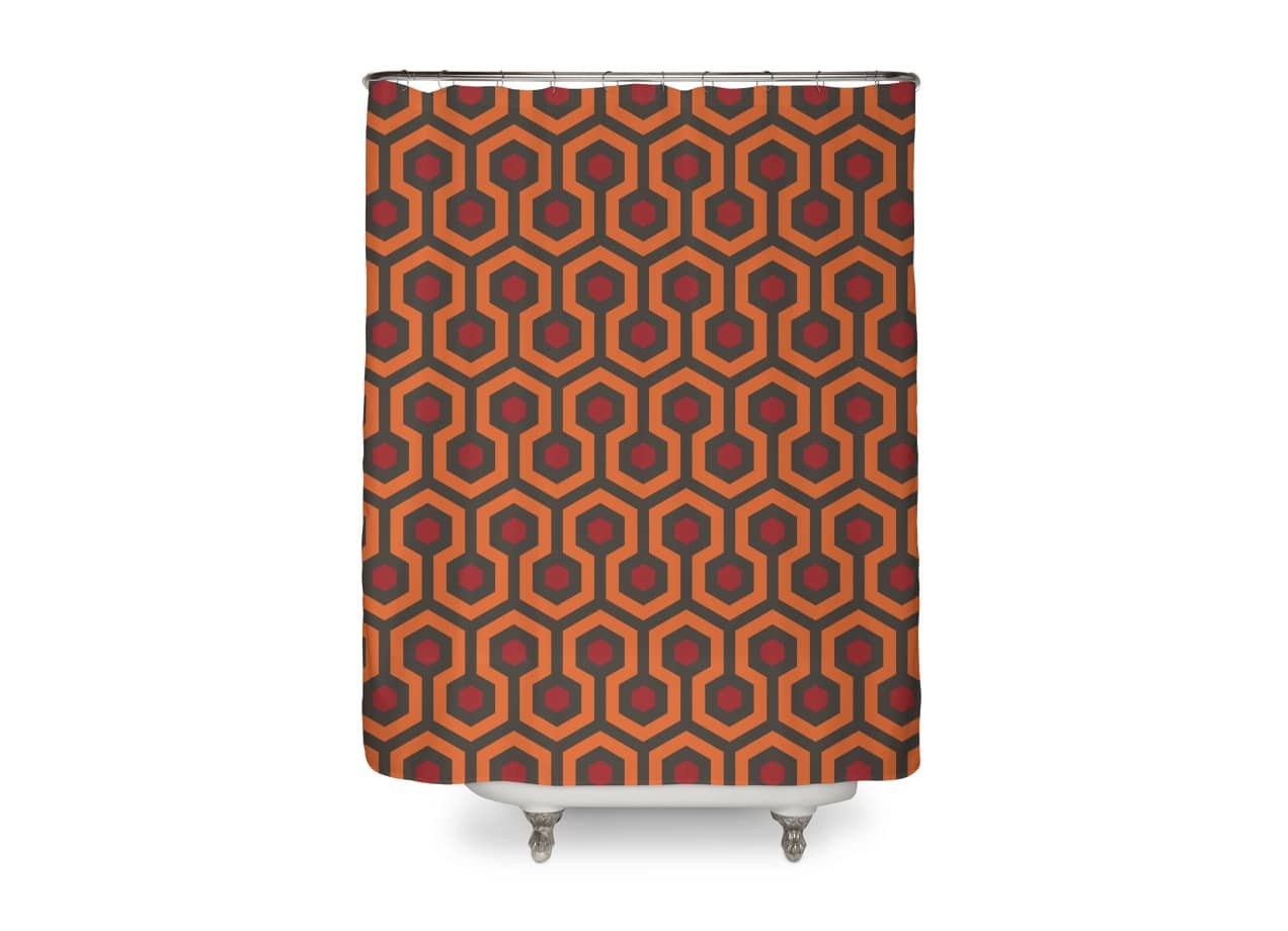 Black Queen Shower Curtain The Shining Overlook Hotel