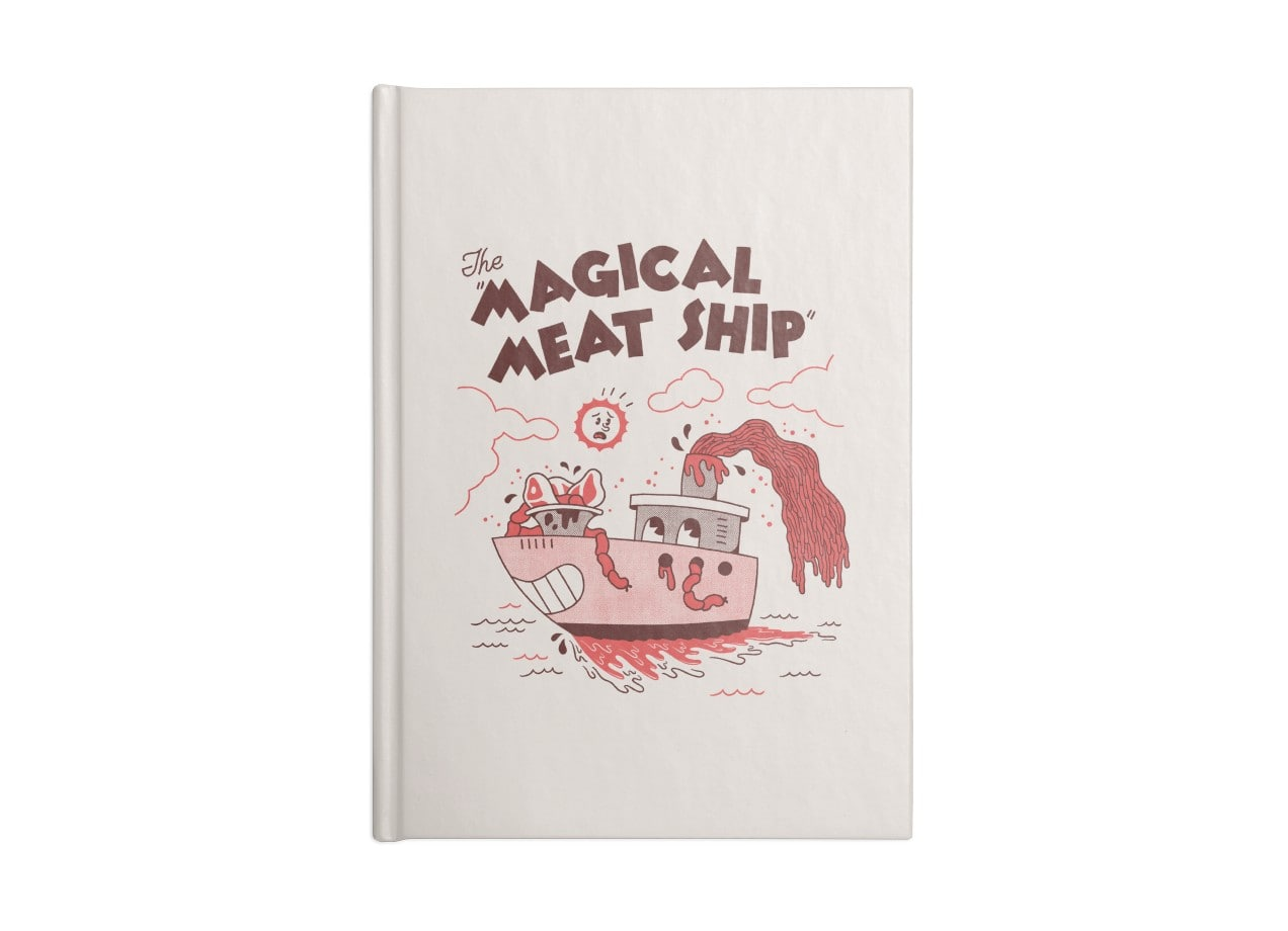 The Magical Meat Ship By Zack Forer Threadless