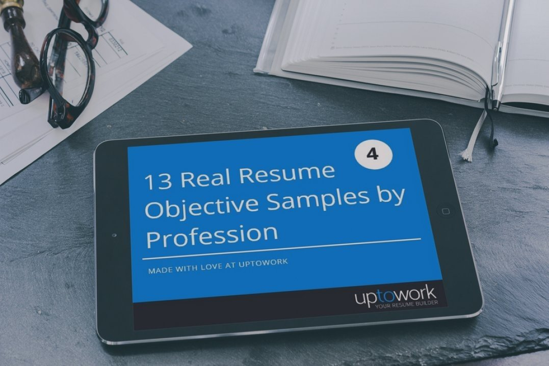 50+ Resume Objective Examples Career Objectives for All Jobs (+Tips)