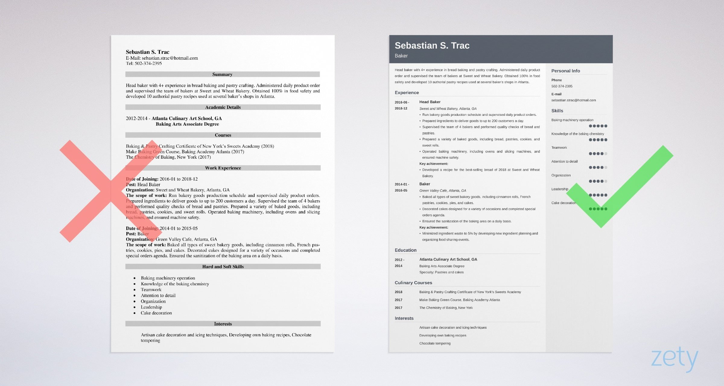 how to create my own resume