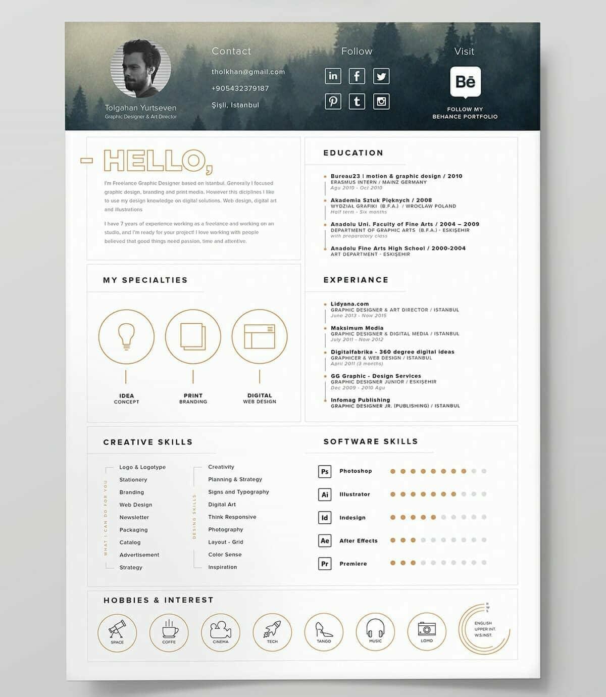 best resume icons