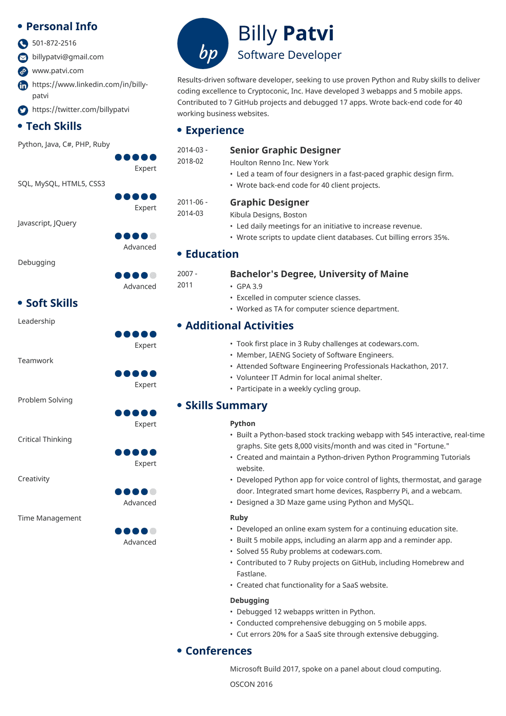 career change resume examples 2013