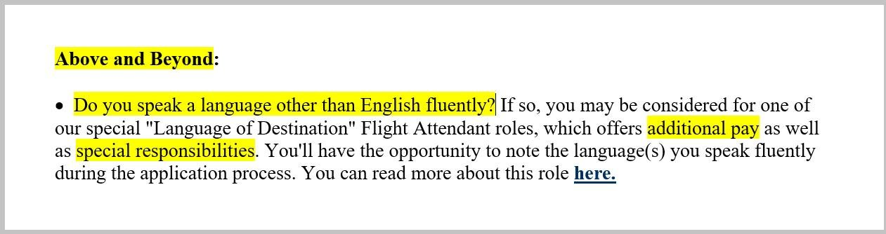 Flight Attendant Resume Sample  Complete Guide 20+ Examples