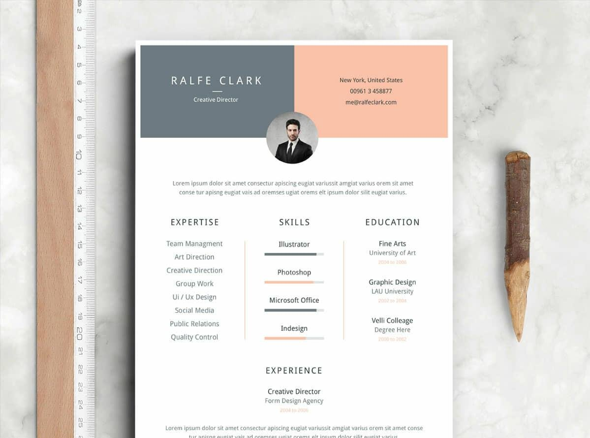 free resume template zety