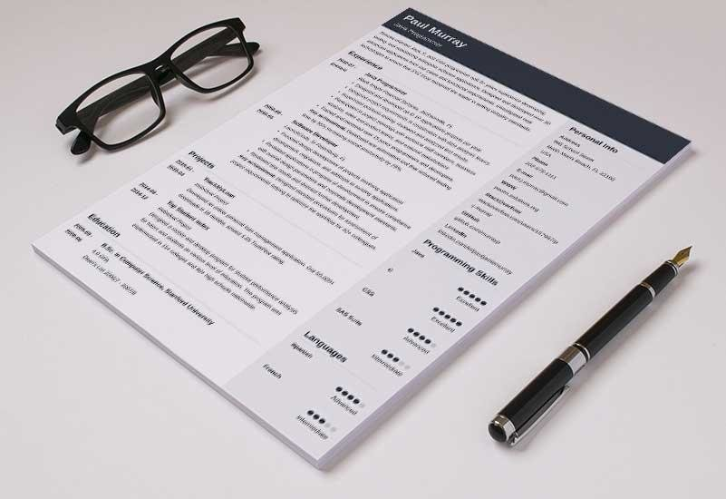 Good Resume Templates (15 Examples to Download  Use Right Now) - what is a good resume template
