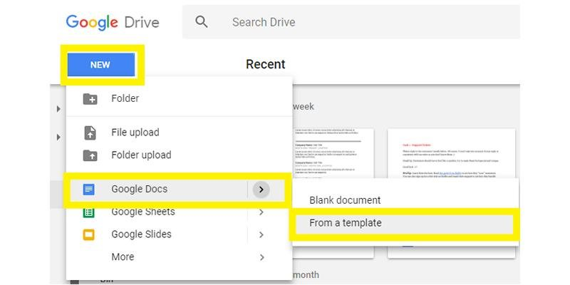 Google Docs Resume Templates 10 Examples to Download  Use Now - google docs resume templates