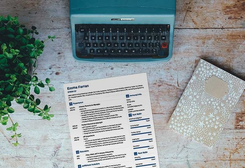 One-Page Resume Templates 15 Examples to Download and Use Now