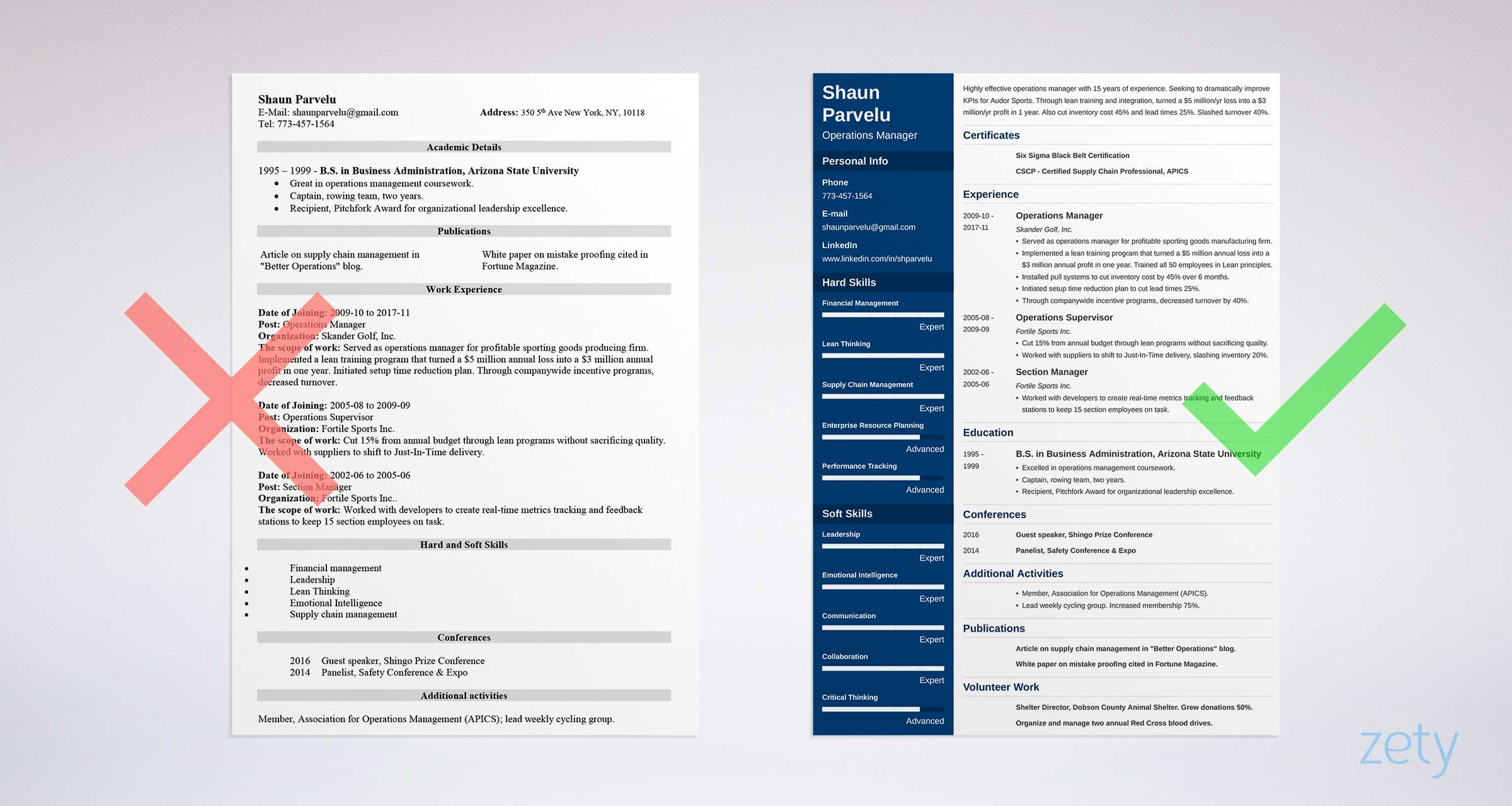 operations manager for security company sample resume