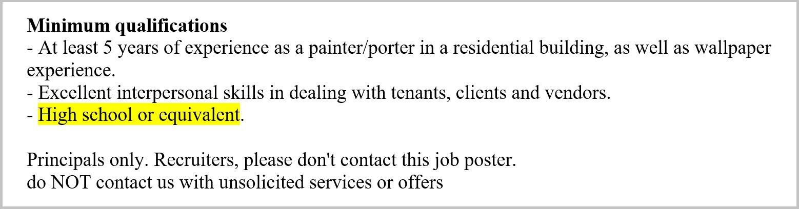 Painter Resume Sample  Complete Guide 20+ Examples - Painter Resume