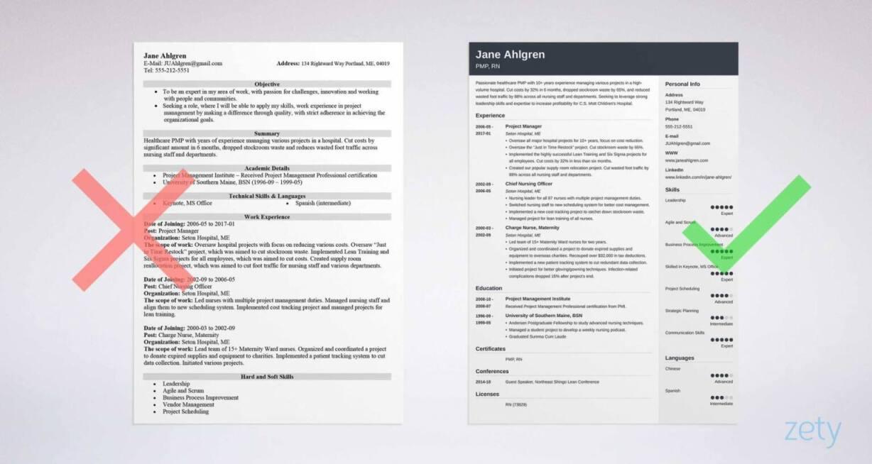 resume tips zety