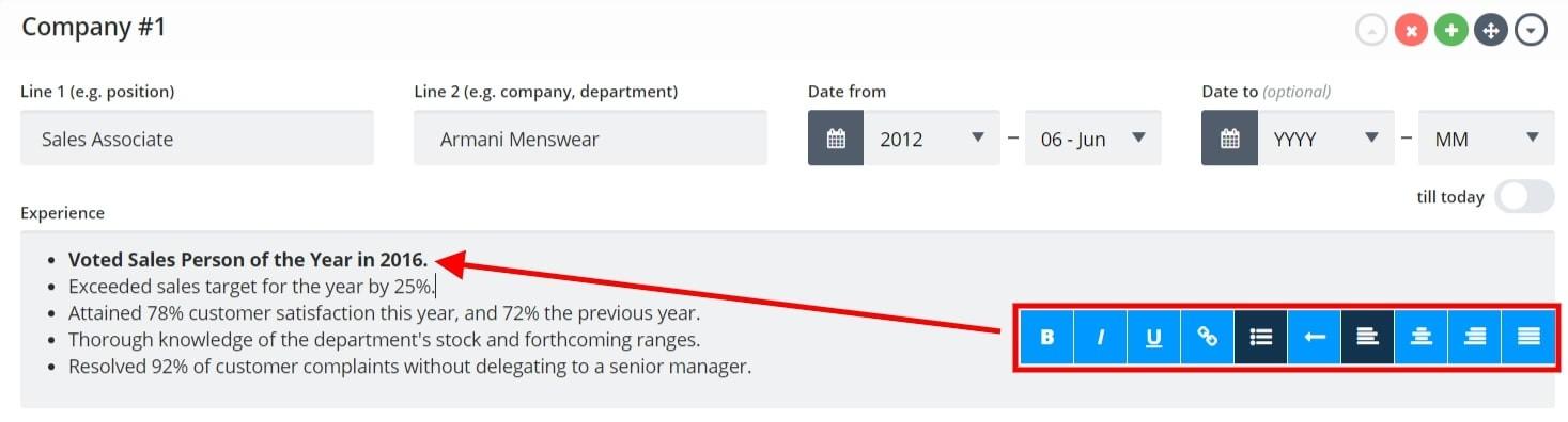 Sales Associate Resume Sample  Writing Guide (20+ Examples)
