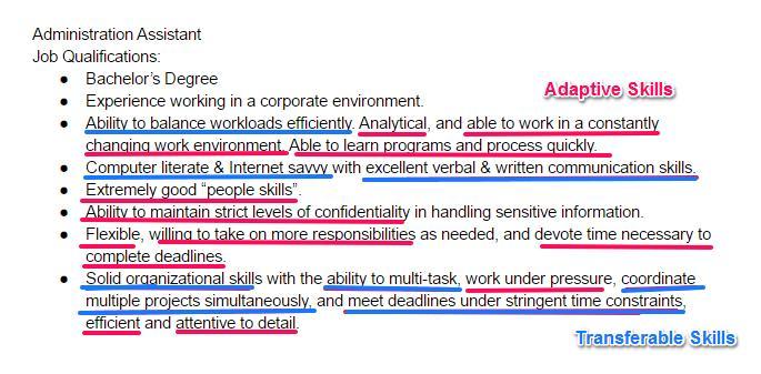 resume words maintain