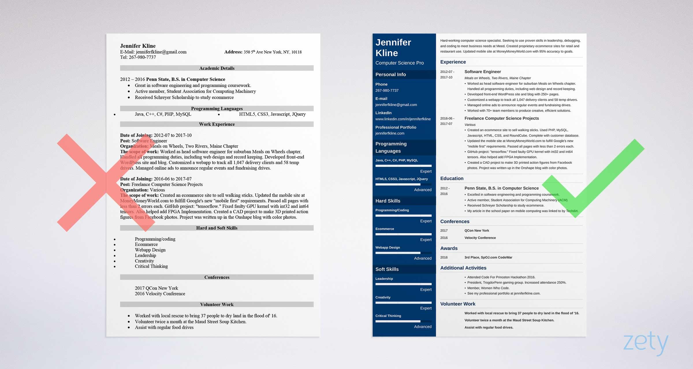listing volunteer experience on resume examples