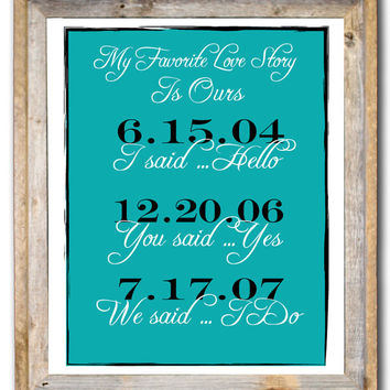 Shop Personalized Love Stories on Wanelo