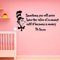 Shop Dr Seuss Quote Wall Decals on Wanelo
