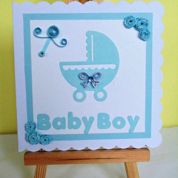 Best Handmade Baby Boy Cards Products on Wanelo
