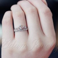 The most beautiful wedding rings: Promise ring on wedding ...