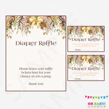 Shop Diaper Raffle Tickets on Wanelo