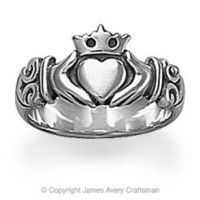 Adorned Claddagh Ring from James Avery from James Avery | Epic
