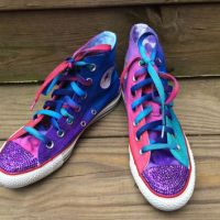 Jewel Tone Converse Blinged Bedazzled Tie from Intellexual ...