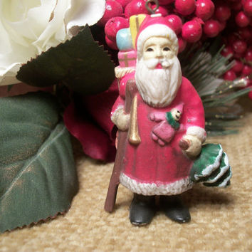 Traditional Old World Woodland Santa from Holiday365 on Etsy
