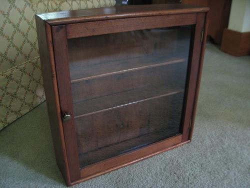 Medium Of Wall Curio Cabinet