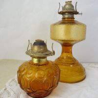 Best Vintage Glass Oil Lamps Products on Wanelo