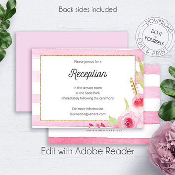 Best Wedding Reception Cards Products on Wanelo