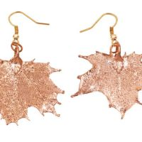 Shop Maple Leaf Earrings on Wanelo