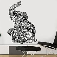 Wall Decal Elephant Vinyl Sticker Decals from Amazon