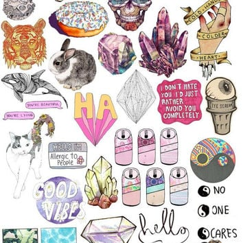 Best Tumblr Stickers Products on Wanelo