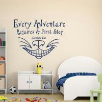 Alice In Wonderland Wall Decal Every from FabWallDecals on ...