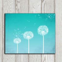 Shop Turquoise Wall Art on Wanelo