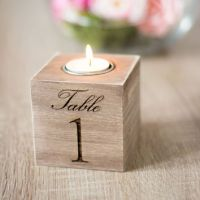 Shop Wedding Table Number Holders on Wanelo