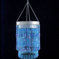 Best Blue Beaded Chandelier Products on Wanelo
