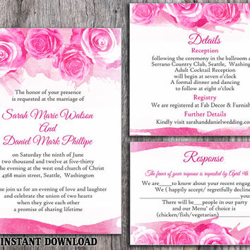 Best Watercolor Wedding Invitations Products on Wanelo