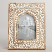 White Wooden Taj Arch Frame - World from Cost Plus World ...