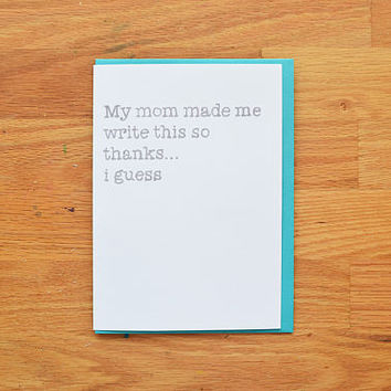 Best Funny Thank You Cards Products on Wanelo