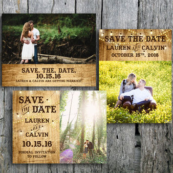 Best Country Save The Dates Products on Wanelo