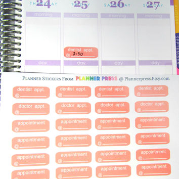 Pink Dentist, Doctor  Blank Appointment from Planner Press